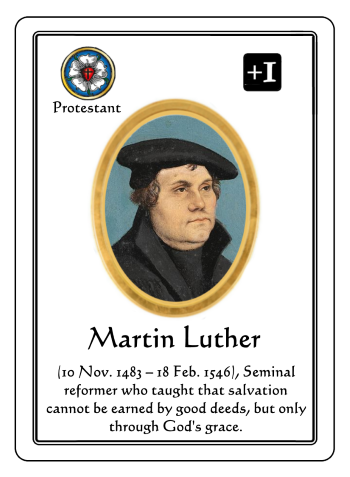 Martin Luther Game Play Examples